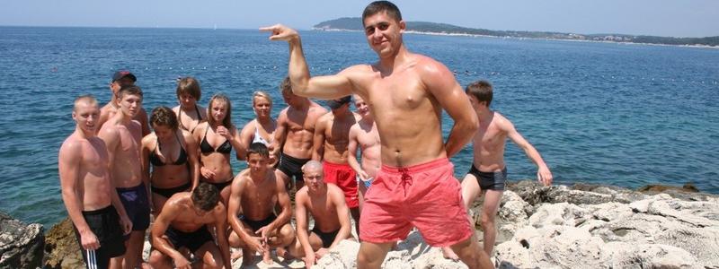 Międzynarodowe zgrupowanie w Puli (Chorwacja) 2009
