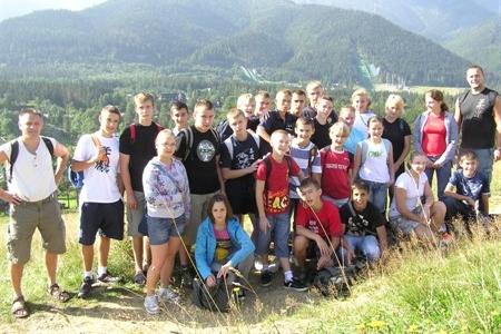 Obóz w Zakopanem 2009
